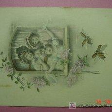 Postales: 831 NIÑOS NIÑO CHILDREN ENFANT BAMBINO NENO PRECIOSA AÑOS 1900 C&C. Lote 3391202