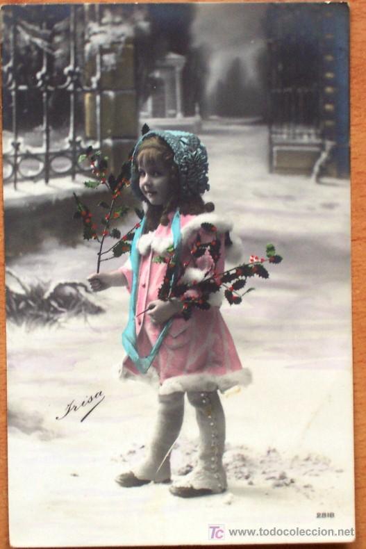 Postales: LOTE 2 POSTALES COLOREADAS SIN CIRCULAR DE LA SERIE 2818 DE YRISA - PRINCIPIOS SIGLO XX - Foto 2 - 15549132