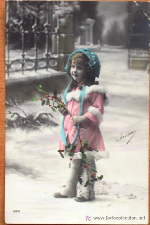 Postales: LOTE 2 POSTALES COLOREADAS SIN CIRCULAR DE LA SERIE 2818 DE YRISA - PRINCIPIOS SIGLO XX - Foto 3 - 15549132