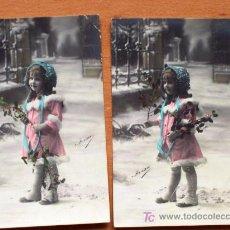 Postales: LOTE 2 POSTALES COLOREADAS SIN CIRCULAR DE LA SERIE 2818 DE YRISA - PRINCIPIOS SIGLO XX. Lote 15549132