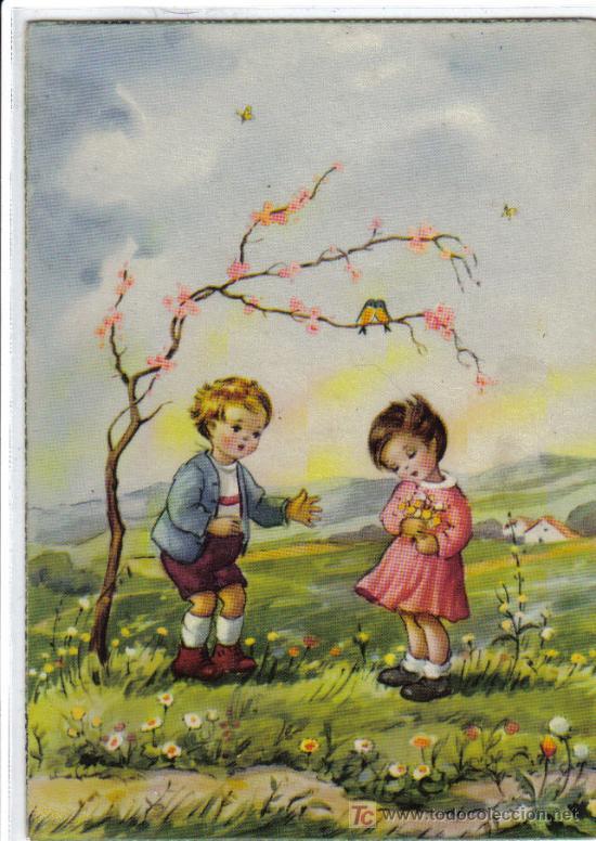 BONITA POSTAL NIÑOS - 3020 ANCLA (Postales - Postales Temáticas - Niños)