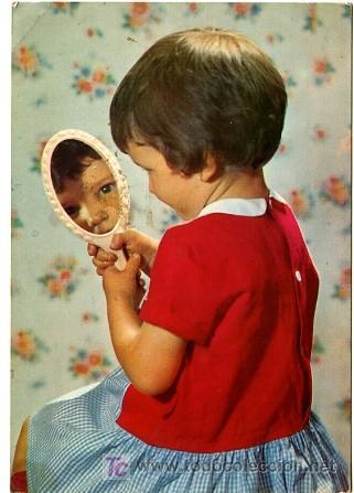 Ni a casta a presumida mir ndose en el espejo d comprar - Espejo irrompible ninos ...
