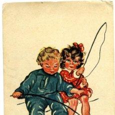 Postales: POSTAL CIRCULADA FECHA 1943. Lote 27579703