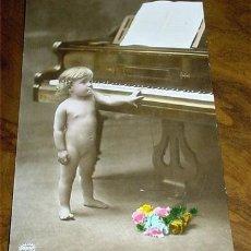 Postales: ANTIGUA POSTAL INFANTIL - AÑOS 20 - COLOREADA - AMAG. Lote 4769056