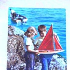 Postales: - POSTAL ITALIANA - AÑOS 60 - NIÑOS CON BARQUITO.. Lote 36582081