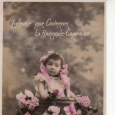 Postales: POSTAL NIÑA -LA BARRIQUE COMPRISE. Lote 12365646