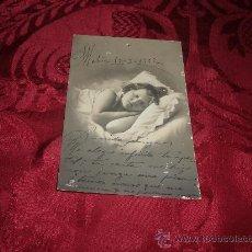 Postales: POSTAL FOTOGRAFICA NIÑA DURMIENDO,G G Cº. Lote 13381302