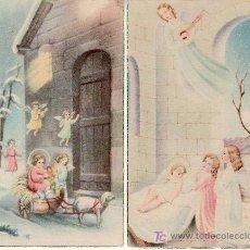 Postales: 2 TARJETAS POSTALES CON ANGELITOS.RASTRILLO PORTOBELLO-ARTICULOS DE COLECCION. Lote 13852324