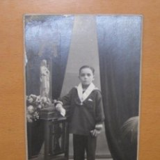 Postales: POSTAL DE NIÑO, CHINCHILLA, TARRAGONA, PRINCIPIOS SIGLO XX.. Lote 13945187
