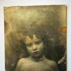 Postales: POSTAL DE NIÑA 1919. Lote 19210818
