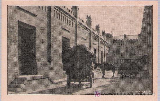 COMISARIA ALGODONERA DEL ESTADO.CALLE DE CARGA DE LA FACTORIA DE TABLADILLA (SEVILLA).HACIA 1920. (Postales - Postales Temáticas - Niños)