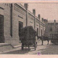 Postales: COMISARIA ALGODONERA DEL ESTADO.CALLE DE CARGA DE LA FACTORIA DE TABLADILLA (SEVILLA).HACIA 1920.. Lote 16822448