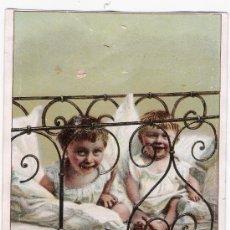 Postales: POSTAL FRANCESA.PUBLICIDAD DE AUX DEUS PASSAGES - BORDEAUX. PARFUMERIE,BONNETERIE..... Lote 18674603