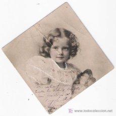 Postales: POSTAL (6,5X6,5) FRANQUEADA Y FECHADA EN MÉJICO.. Lote 18674654