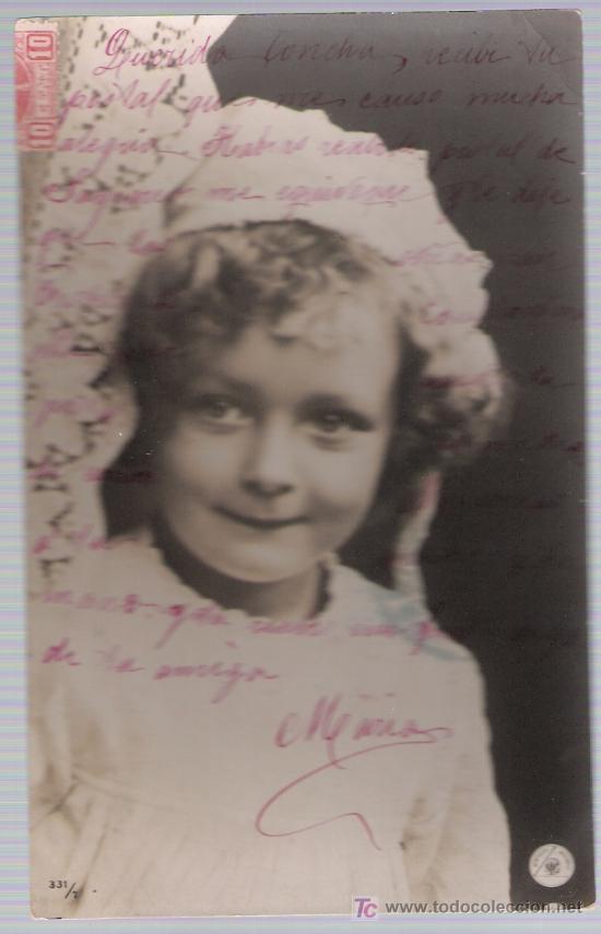 POSTAL ALEMANA. FRANQUEADO Y FECHADO EN SEVILLA 1907? (Postales - Postales Temáticas - Niños)