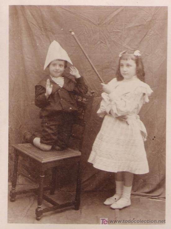 POSTAL ESPAÑOLA. ANTERIOR A 1906. (Postales - Postales Temáticas - Niños)