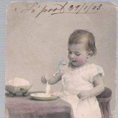 Postales: POSTAL FRANCESA. FECHADO EN LIVERPOOL EN 1903.. Lote 18729758
