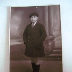 Postales: FOTO POSTAL DE NIÑO, AÑOS 20 APROX (SIN CIRCULAR, SUPERFICIE CON DESPERFECTO)). Lote 20337871