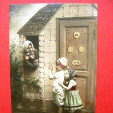 Postales: 6 POSTALES ANTIGUAS ORIGINALES (13,5 X 8,5 CM) - NIÑOS. Lote 21564427