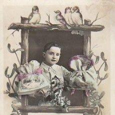 Postales: PRIMERO DE ENERO, FELIZ AÑO (ES UNA FELICITACIÓN DE NAVIDAD). Lote 22245126