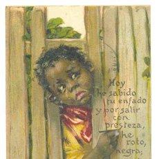 Postales: CIRCULADA 1915 .. CON 2 SELLOS 5 C. Lote 24572959