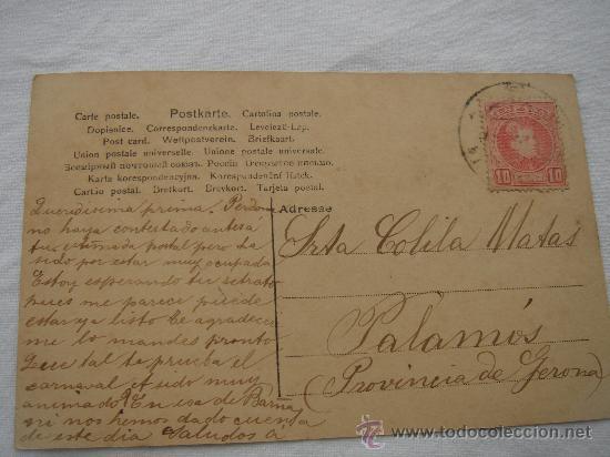 Postales: DETALLE DEL DORSO DE LA POSTAL - Foto 5 - 26421280