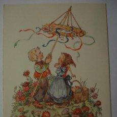 Postales: 181 NIÑA NIÑOS PRECIOSA POSTAL ORIGINAL AÑOS 1920 OCASION !! A DIARIO POSTALES A BAJO PRECIO. Lote 28538413