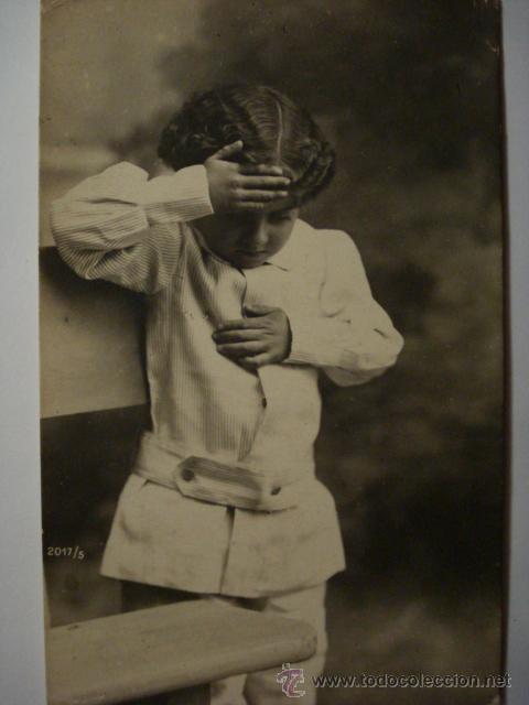 25 NIÑO NIÑA NIÑOS POSTAL ORIGINAL AÑOS 1910 - MAS EN MI TIENDA (Postales - Postales Temáticas - Niños)