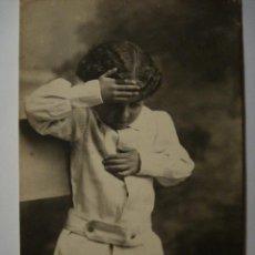 Postales: 25 NIÑO NIÑA NIÑOS POSTAL ORIGINAL AÑOS 1910 - MAS EN MI TIENDA. Lote 28584378