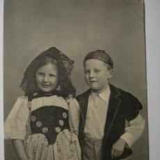 Postales: 73 SUIZA NIÑO NIÑA NIÑOS POSTAL ORIGINAL AÑOS 1910 - MAS EN MI TIENDA. Lote 28584380