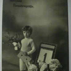 Postales: 86 NIÑO NIÑA NIÑOS POSTAL ORIGINAL AÑOS 1900 - MAS EN MI TIENDA. Lote 28584384