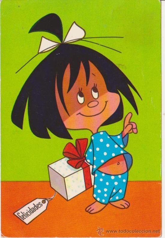 cleo de la familia telerin 1965 comprar postales antiguas de niños
