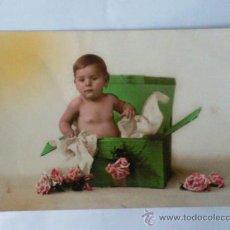 Postales: TARJETA POSTAL NIÑOS ,- AÑO 1925 ,- CONSUEGRA. Lote 28747805