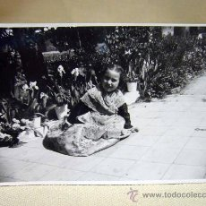 Postales: FOTO, TARJETA POSTAL, RETRATO DE FALLERA, FOTO ESCUDER. Lote 28942460