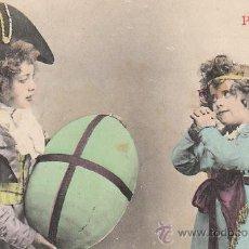Postales: NIÑOS, CIRCULADA EN 1903 (VER EL DORSO). Lote 29258195