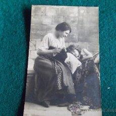 Postales: POSTAL- ANTIGUA-NIÑAS-ESCRITA-SELLADA. Lote 29329511