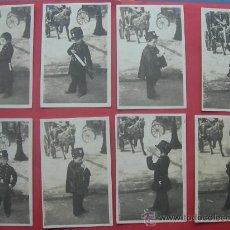 Postales: 8 POSTALES ANTIGUAS. AÑO 1907. NIÑO VESTIDO DE POLICÍA. Lote 29927755
