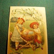 Postales: POSTAL INFANTIL ANTIGUA - TROQUELADA - ESCRITA - 1910. Lote 31728366