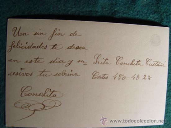 Postales: POSTAL INFANTIL ANTIGUA - - ESCRITA EN 1910´S - - - Foto 2 - 31728611