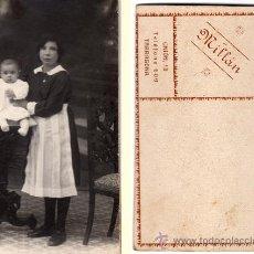 Postales: TARJETA POSTAL DE CARTÓN DURO, PHOTO STUDIO MILLÁN DE TARRAGONA. Lote 32133096