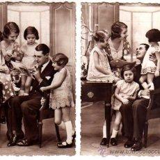 Postales: PAREJA DE POSTALES FAMILIARES. ESCRITAS.. Lote 32166497