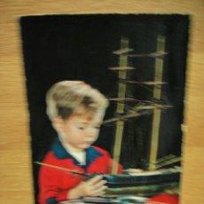 Postales: MODELISTA POSTAL ESCRITA EN 1963 EDICION ITALIANA. Lote 32239360