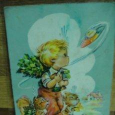 Postales: MIRANDO EL OVNI POSTAL ESCRITA ED.CYZ. Lote 32399116