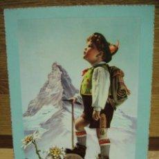 Postales: MONTAÑERO POSTAL ESCRITA 1958 ED. CYZ. Lote 32399195