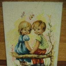 Postales: PAREJA POSTAL ESCRITA 1960 ED. CYZ. Lote 32399790