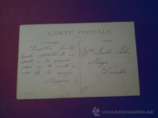 Postales: EXCELENTE Y ANTIGUA FOTO DE PEQUEÑA RODEADA DE JUGUETES AÑO 1908 - Foto 2 - 32590981