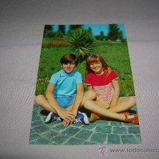 Postales: POSTAL DE NIÑOS AÑOS 60. Lote 32654872