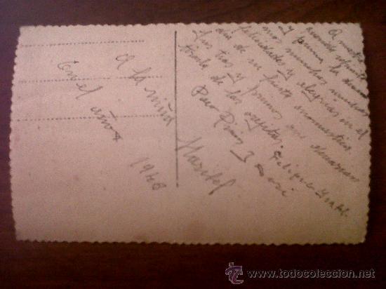 Postales: POSTAL TROQUELADA NIÑA 1132/5-ESCRITA 1946 - Foto 2 - 32863430