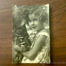 Postales: POSTAL TROQUELADA NIÑA 1132/5-ESCRITA 1946. Lote 32863430