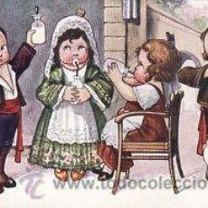 Postales: 5 POSTALES / POST CARD BERTIGLIA..ITALIA.1919.OPERA LA BOHÉME,CAVALLERIA RUSTICANA,FALSTAFF,RIGOLETT. Lote 32936005